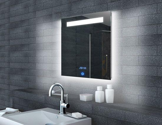 Www Lux Aqua De Lichtspiegel Led Uhr Und Touch Schalter 60x65 Ml6506 Cheap Kitchen Cabinets Cabinets For Sale Kitchen Cabinets Showroom