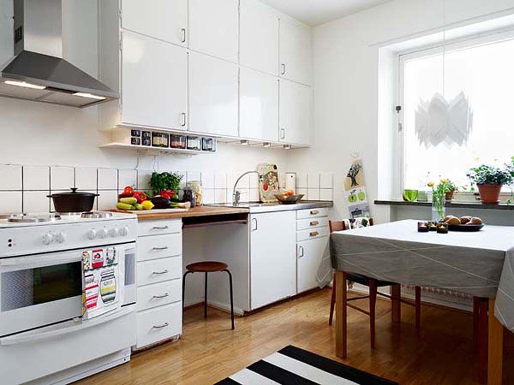 Small Kitchen Apartment Creative Design