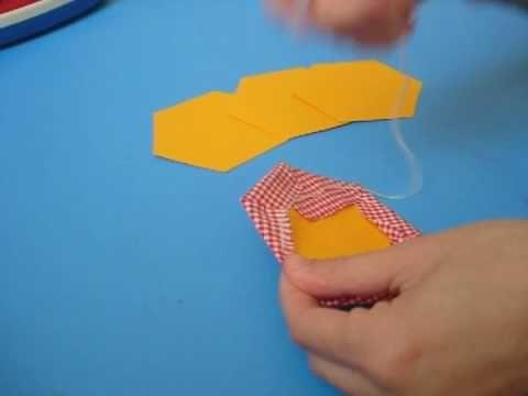 ▶ Come fare un quilt a esagoni - YouTube