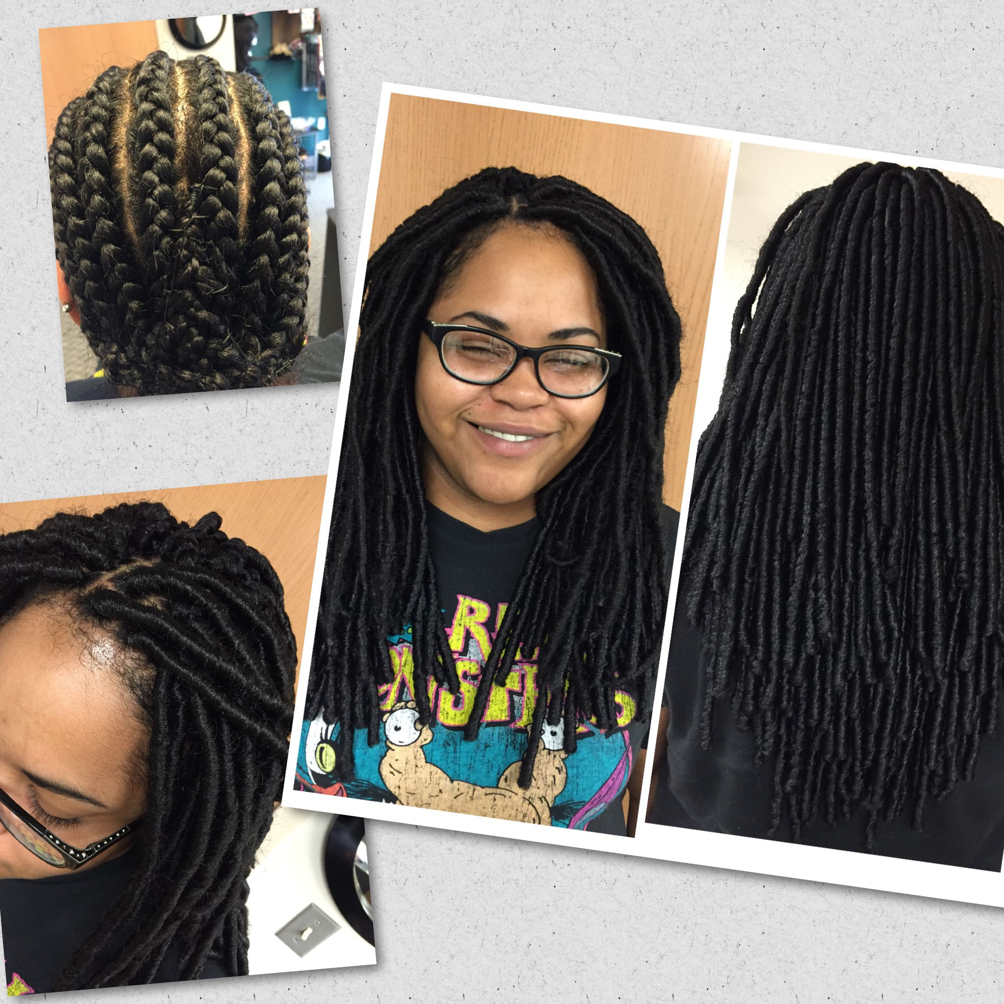 Crochet Braids Using Jamaica Braid By Femi 7pks Used Client Requested This Style From