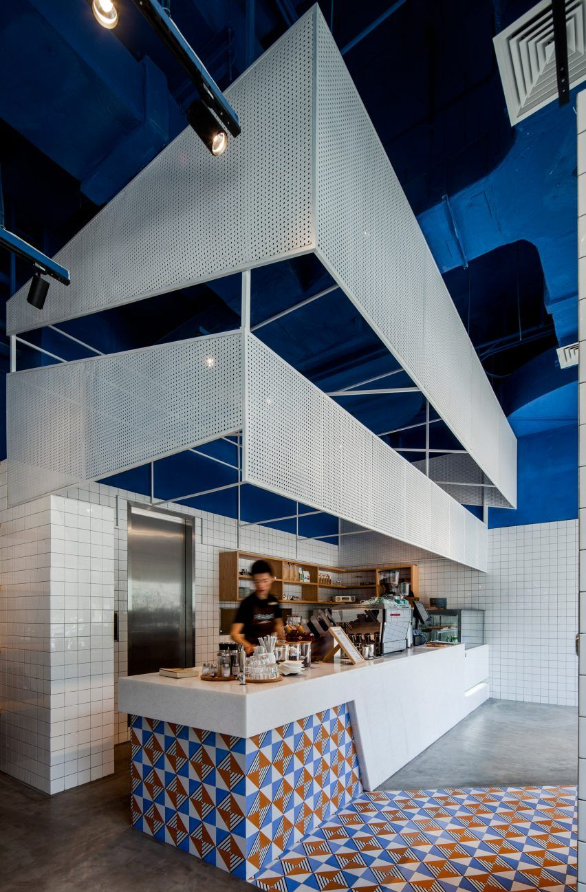 Paras Cafe by Swimming Pool Studio | Interiors | Pinterest