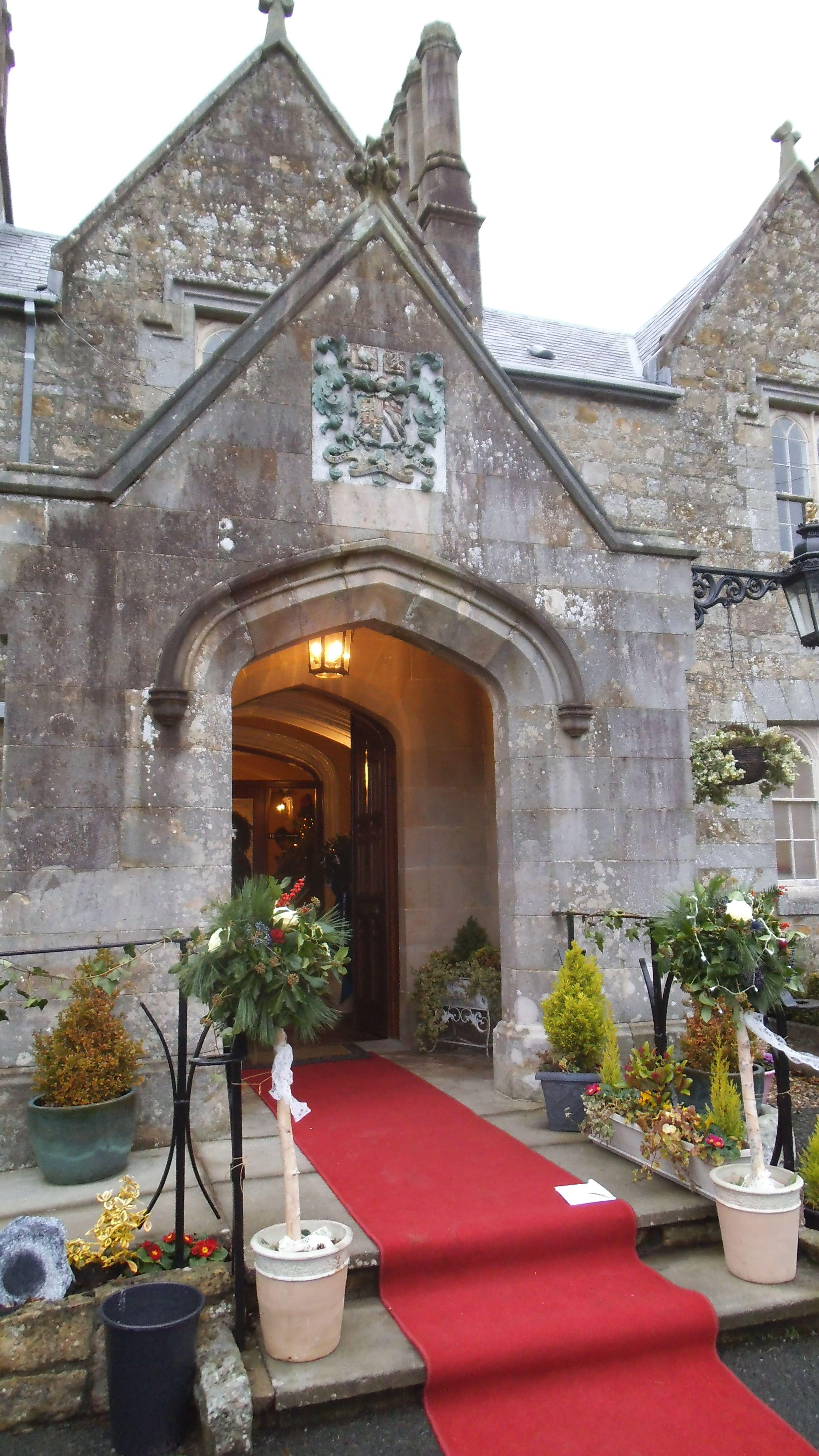 December wedding at Parkanaur Manor County Tyrone Northern
