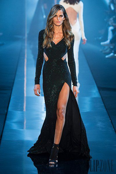 #Alexandre #Vauthier #Spring-summer 2015 - #Couture #black #dress #fashion #runway #look #gorgeous