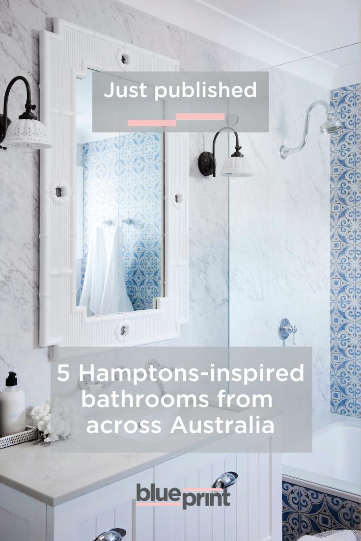 To Create Your Own Hamptons Inspired Bathroom We Ve Broken Down