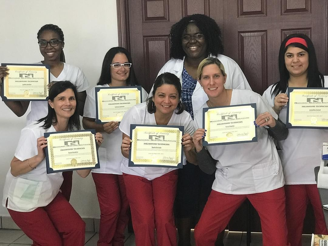 Congratulations to all our phlebotomy technician students who took congratulations to all our phlebotomy technician students who took the national certification exam pass they all passed 1betcityfo Images