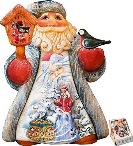 G Debrekht Nativity Angel Figurine Christmas Ornaments Top Brands Artists Designer Names The Holiday Aisle Santa Ornaments Snow Maiden