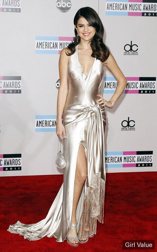 selena gomez american music awards 2011 photos