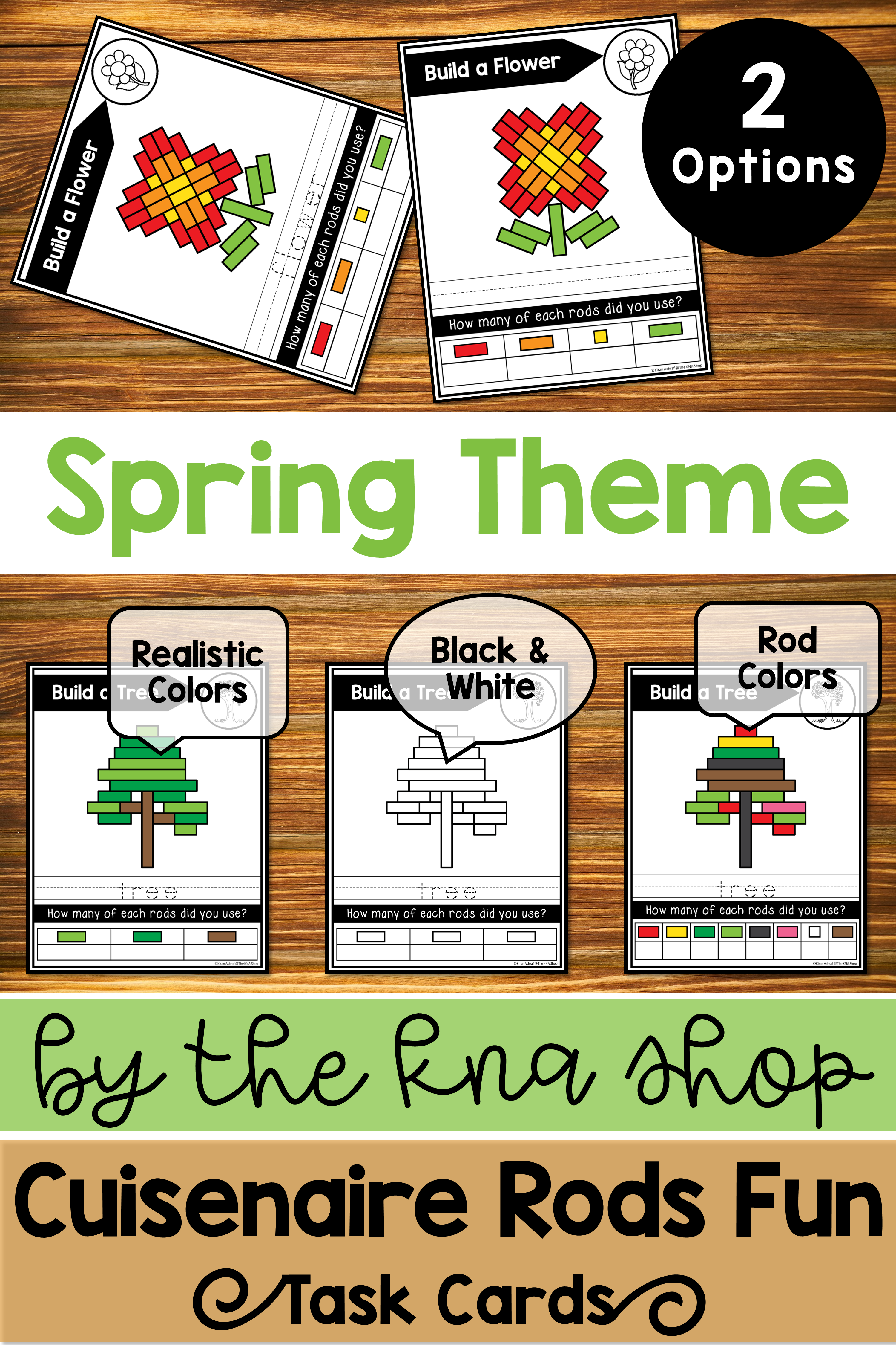 Cuisenaire Rods Task Cards