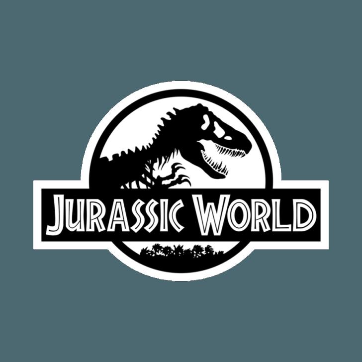 Jurassic World The Movie Original Coloring Logo