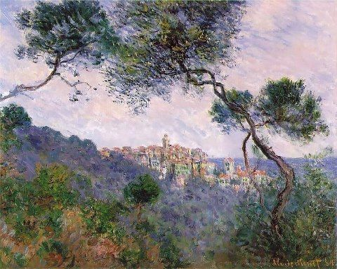 Claude Monet (French, Impressionism, 1840-1926): Bordighera, 1844. Oil on canvas, 23-5/8 x 28-3/4 inches (60 x 73 cm). Private Collection. Image: ©Petrus.agricola.