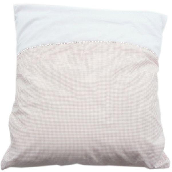 Baby Bettdeckenbezug Vichy2 Zartrosa Weiß Von