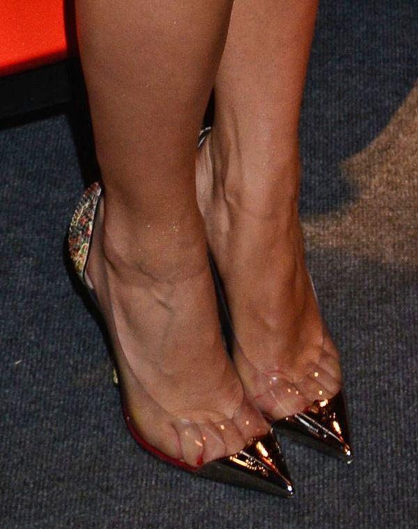 from Blaze sexy feet of claudia christian