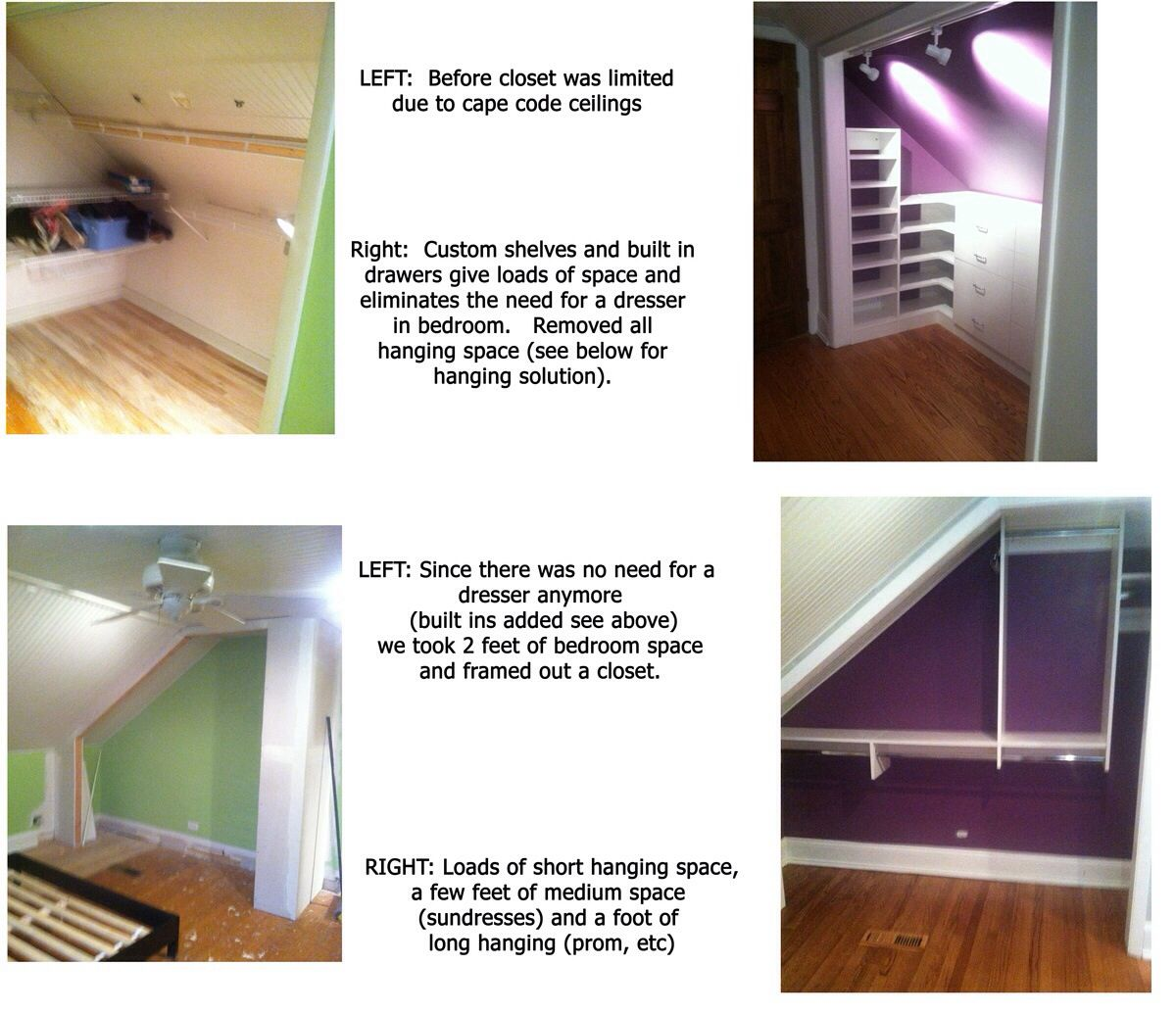 Lovely Cape Cod Closet Ideas Part - 12: Closet Renovations - Tricky Cape Cod With Loads Of Closet Space!