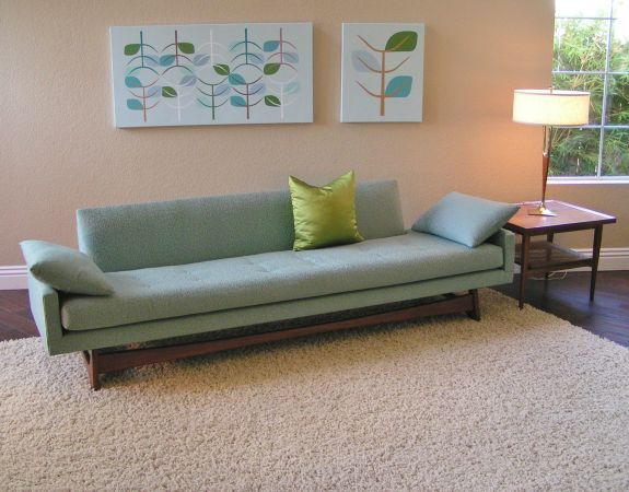 Sleek And Simple Lines Adrian Pearsall Sofa For Craft
