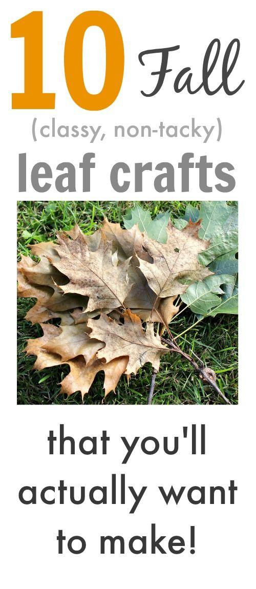 10 Fall Leaf Crafts (Inspiration Fridays) | The Creek Line House
