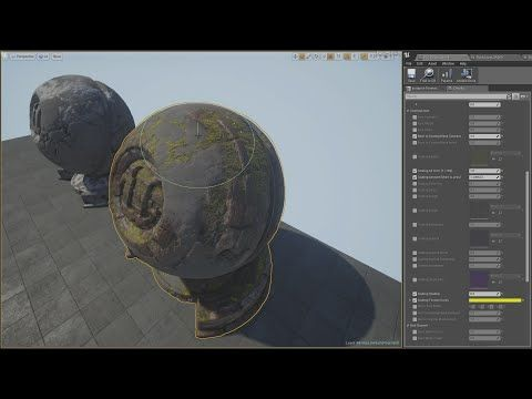 Unreal Engine 4 Coating Vertex Material Shader Youtube Con