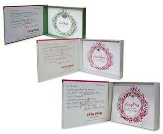 trinky things® Christmas Bangle Bracelet/Card Gift Set