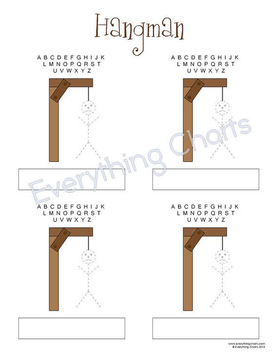hangman game pdf files printables reunion ideas games hangman