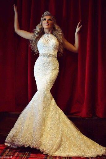 Perfect mermaid wedding dress   Weddings   Pinterest
