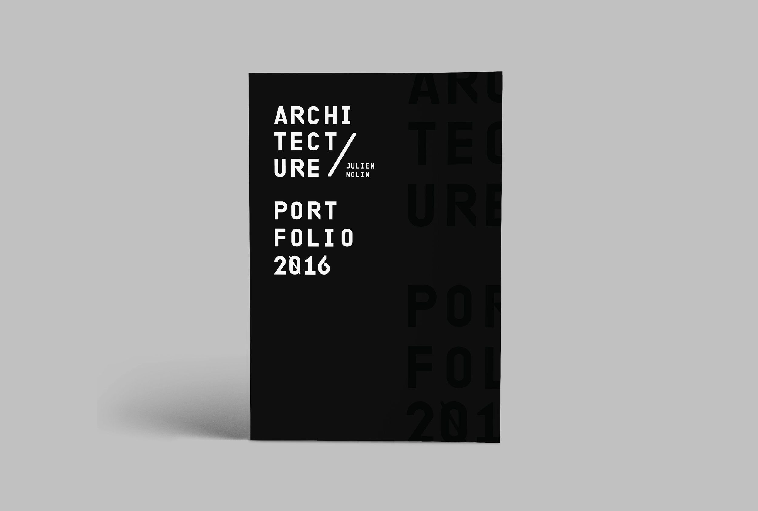 julien nolin architecture portfolio cover screenshots
