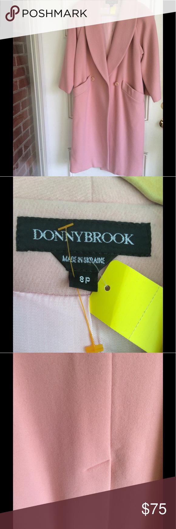 Gorgeous Pink Dress Coat Offers Welcome Wool Elegant Classic Donnybrook Jackets Coats Pink Dress Coat Dress