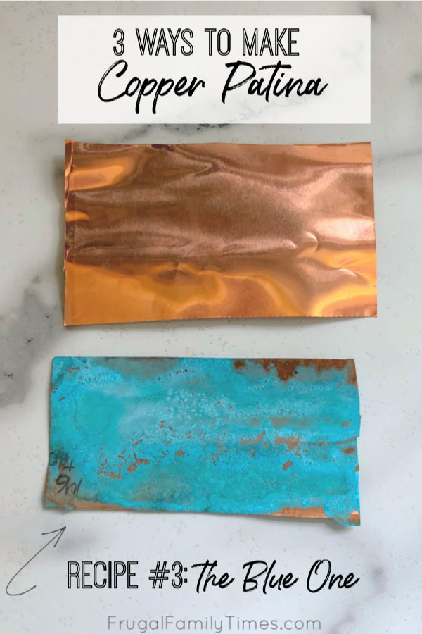 3 Easy Ways To Make Copper Patina Green Verdigris With Household Ingredients Frugal Family Times In 2020 Copper Patina Diy Copper Diy Copper Patina