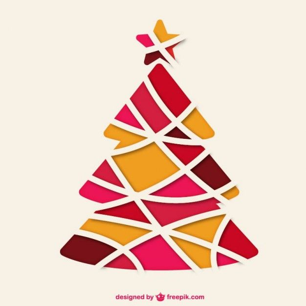 Download Abstract Christmas Tree For Free Printable Christmas Cards Christmas Card Inspiration Christmas Vectors