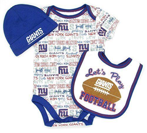 0d933d0e Pin by Lady Fans 4 NYGiants on Lil Giants | Bibs, Bodysuit, New york ...