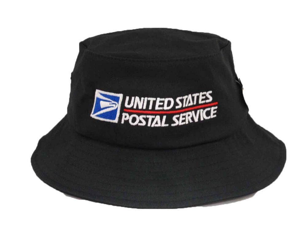 USPS Flexfit Bucket Hat Yupoong Fishing Cap US Postal