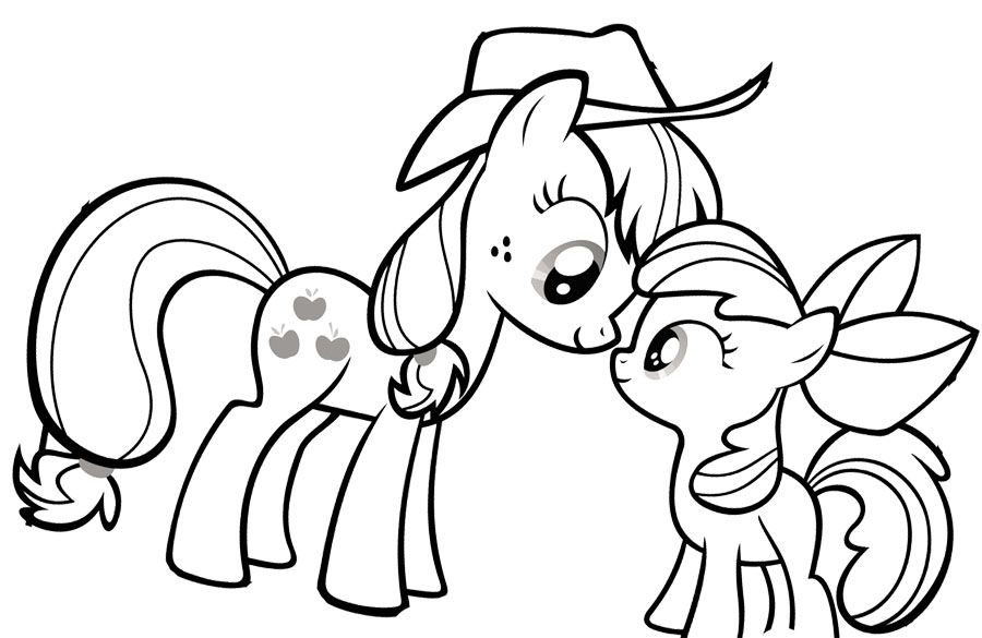 My Little Pony Coloring Page 26 Hd Coloring Pages Boyama
