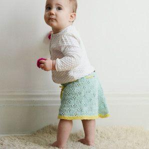 Jupe Lola - patron de tricot gratuit