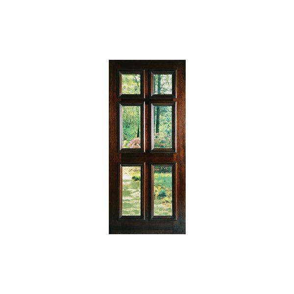 Exterior glass doors, 6 panel glass exterior doors @ BDO ❤ liked on Polyvore featuring home, home decor, windows, doors, doors & windows, furniture and glass home decor