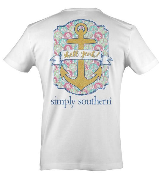 Simply Southern Prep Anchor Yeah T-Shirt $9.50