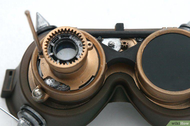 d8a0f499ca hacer lentes steampunk | consejos para humildes | Moda steampunk ...