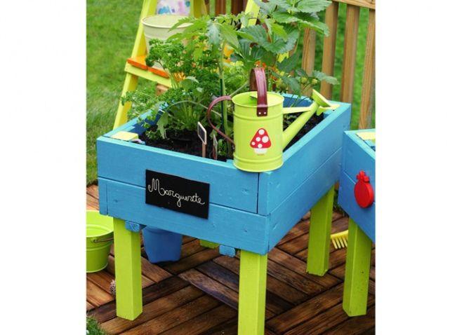 youhou un coin jardin r serv aux enfants potager enfants et jardinage. Black Bedroom Furniture Sets. Home Design Ideas