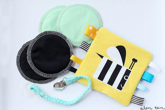 Vauvalahjat itse tehden (kooste: hyödykkeitä, leluja, vaatteita ym.)