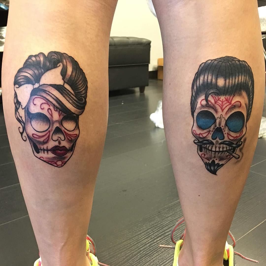 Sugar Skull Tattoos 3 Tatuajes Pinterest Tatuaggi Teschi Y