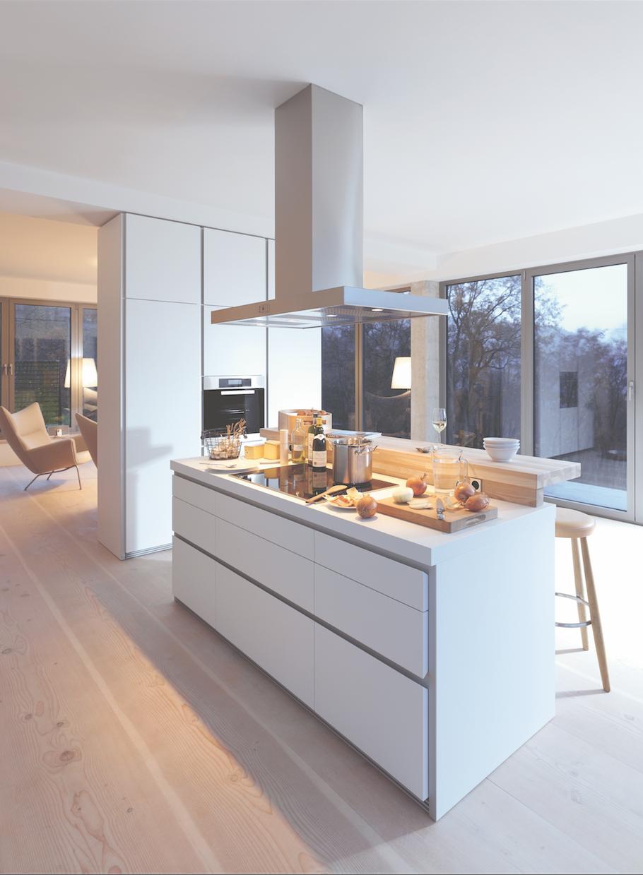 bulthaup b1 keuken de keuken in deze loft draagt. Black Bedroom Furniture Sets. Home Design Ideas