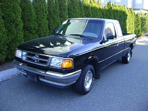 1996 Ford Ranger Xl Black Salem Ma Ford Ranger Ford Ranger Xl