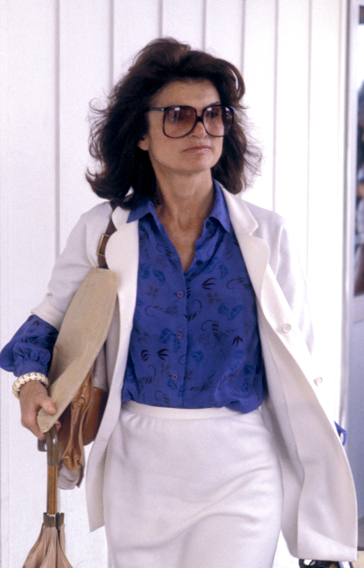 Jackie Kennedy Onassis, June, 1979
