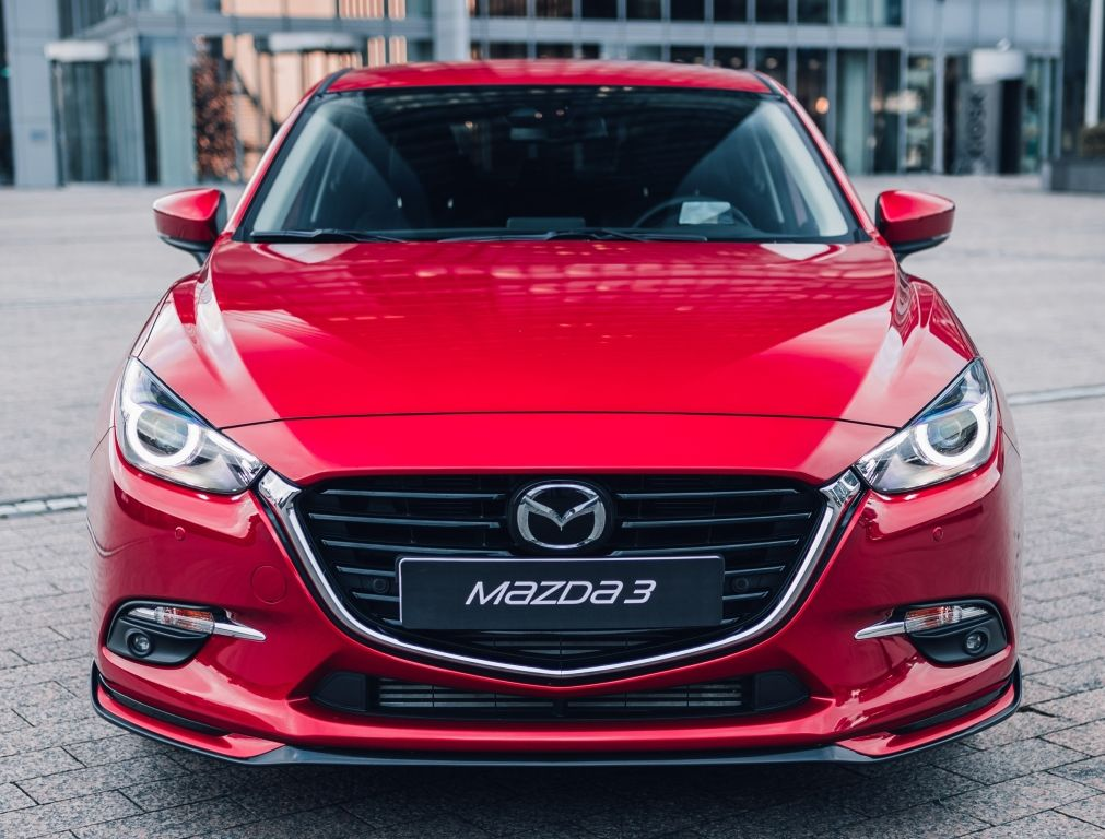 Mazda3 Hatchback Accessorized (BM) '2016 Mazda 3