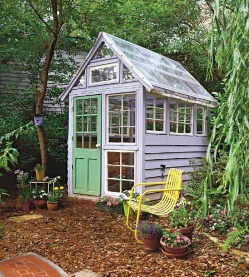 Maison de jardin pour un extérieur encore plus coquet