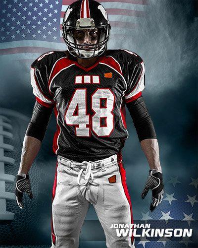 Football Patriotic Custom Templates Football Football