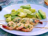 Grilled herb shrimp, Barefoot Contessa.