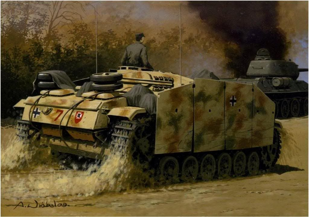 wehrmacht in action