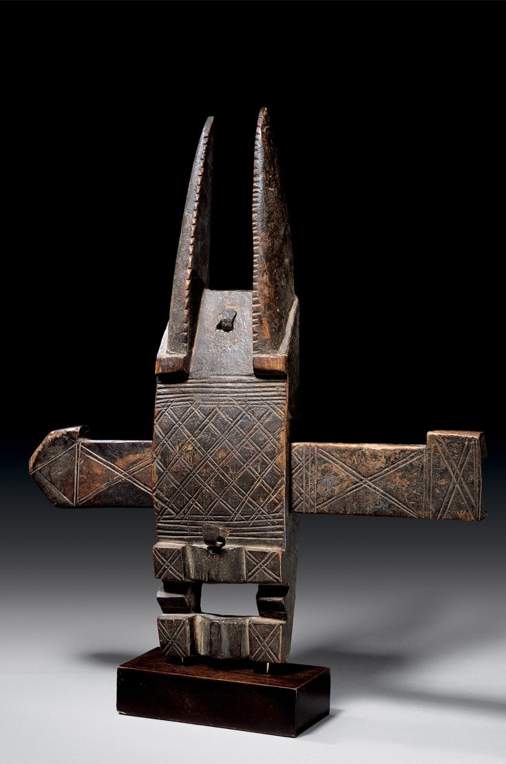 Africa   Door lock from the Dogon people of Mali   Wood