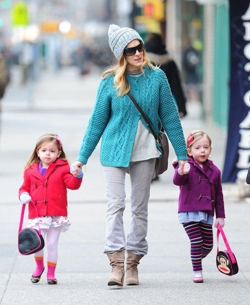 Marion Broderick Photos: Sarah Jessica Parker Takes Her Kids to School