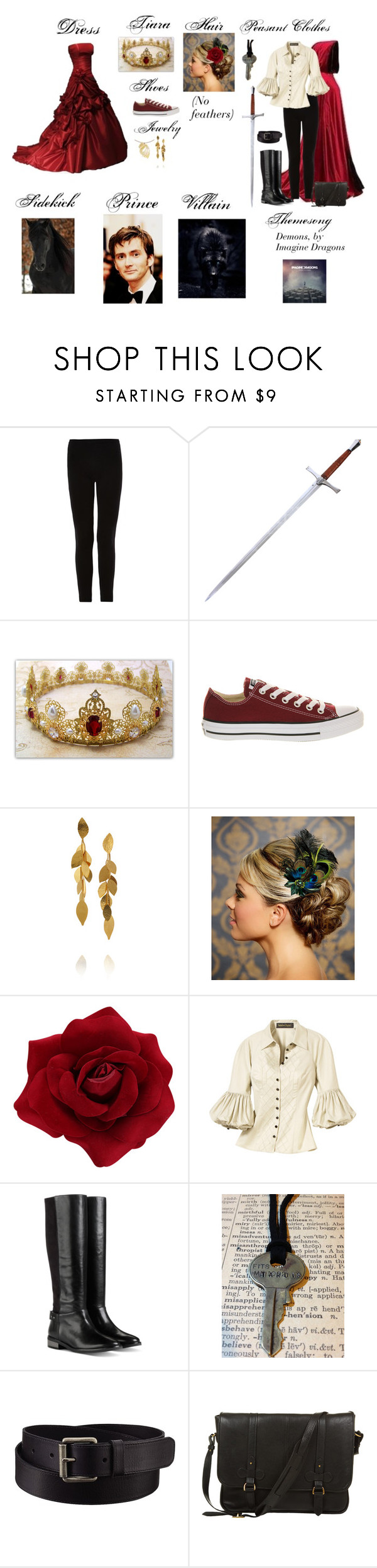 """""""Me as a Disney Princess"""" by anikiam ❤ liked on Polyvore featuring Isabel Marant, Converse, Hervé Van Der Straeten, Cole Haan, Uniqlo, Daines & Hathaway and Ayame"""