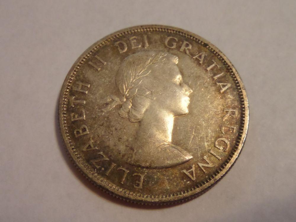 1956 CANADA CANADIAN SILVER DOLLAR