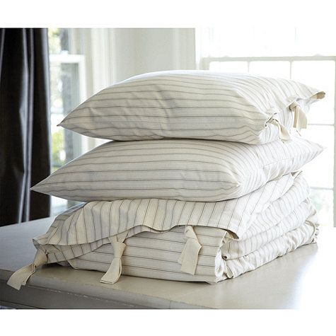 Ticking Stripe Bedding Farmhouse Everything Ticking